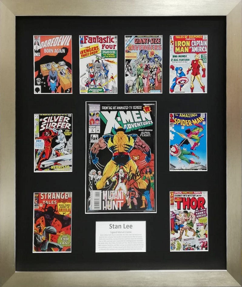 LOT 40 - STAN LEE SIGNED MARVEL COMIC